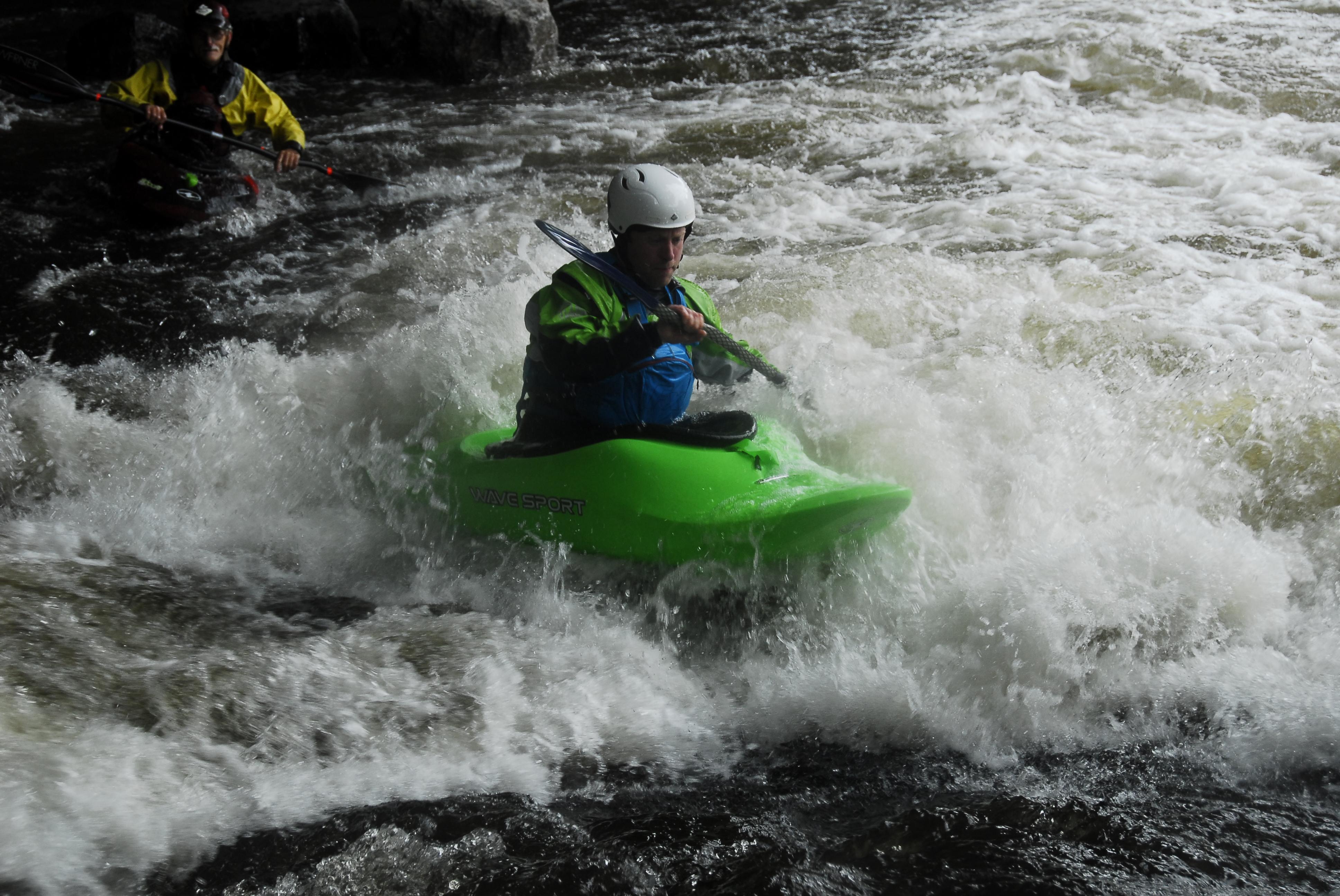 Marathon canoeing