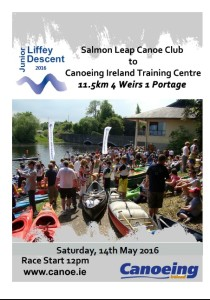 Junior Liffey Descent 2016