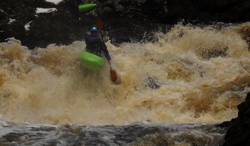 Canoeing Ireland WhiteWater Kayak