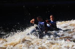Canoeing Ireland Liffey Descent