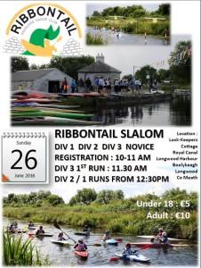 Ribbontail Slalom 26th June