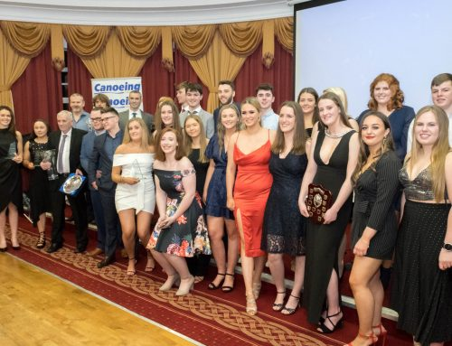 25th January 2020  Canoeing Ireland Annual Awards – Female Winners