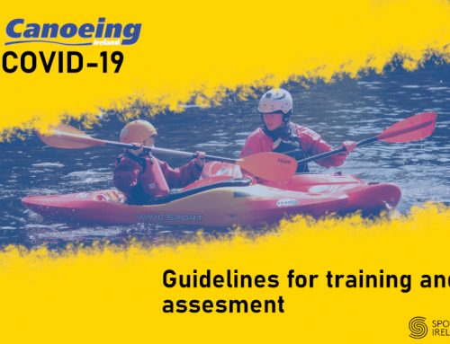 Canoeing Ireland awards training and assessment COVID-19 Guidelines