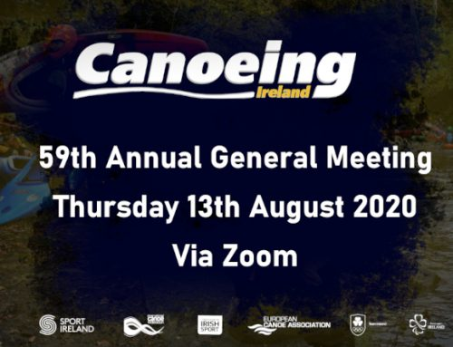 59th Canoeing Ireland Annual General Meeting 2020
